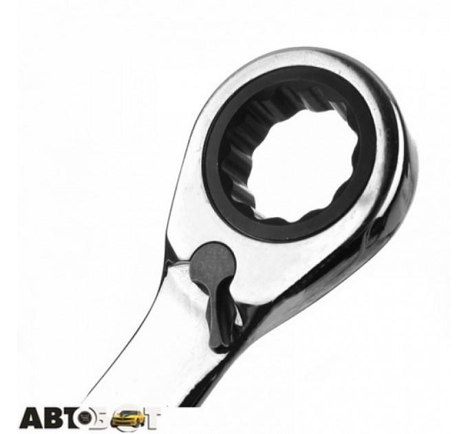 Ключ рожково-накидной Alloid КТ-2071-15Р