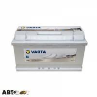 Автомобильный аккумулятор VARTA 6СТ-100 SILVER dynamic (H3)