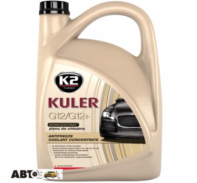 Антифриз K2 Kuler G12/G12+ красный -35C СК-2 5л