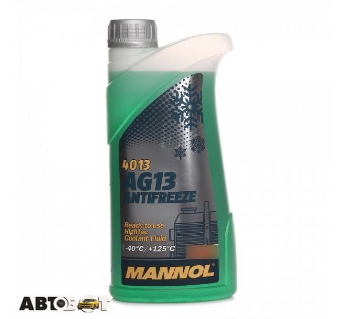 Антифриз MANNOL Antifreeze AG13 зеленый -40C 1л