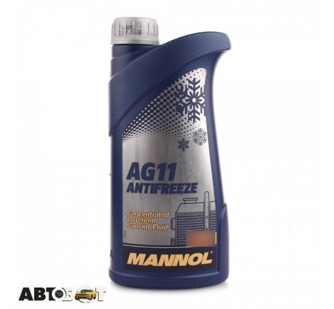Антифриз MANNOL Antifreeze AG11 синий -40С 1л