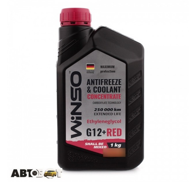Антифриз Winso ANTIFREEZE & COOLANT CONCENTRATE WINSO RED G12+ 881000 1кг