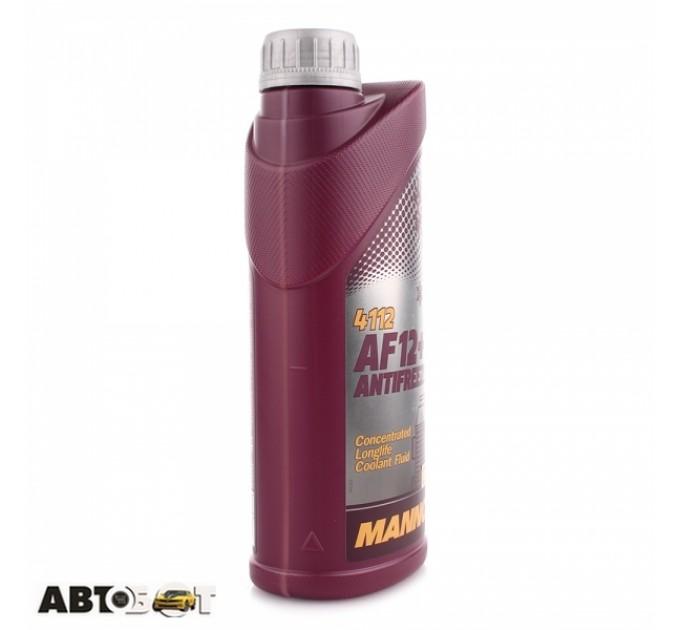 Антифриз MANNOL Antifreeze AF12+ красный -40C 1л