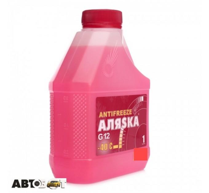 Антифриз Аляsка G12+ красный -40°C 5524 1л