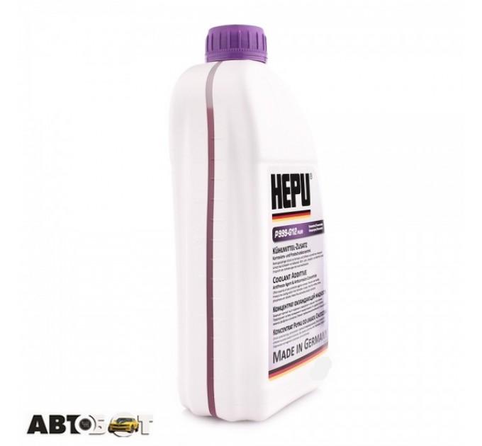 Антифриз HEPU G12+ фиолетовый концентрат P999-G12PLUS 1.5л