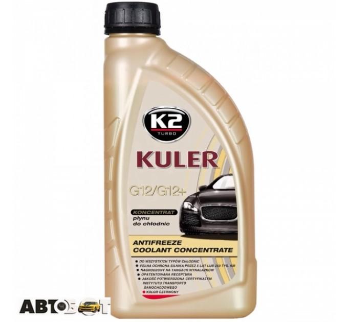Антифриз K2 Kuler G12/G12+ красный -35C СК-2 1л