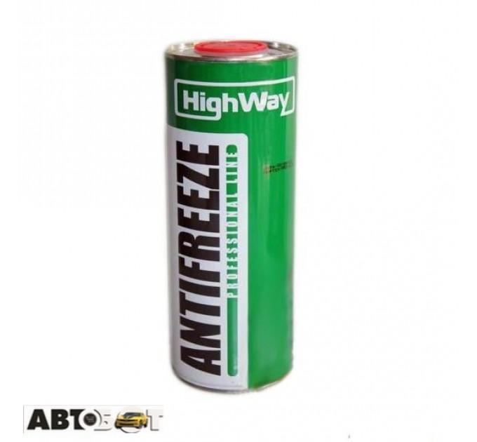 Антифриз High Way Long Life G11 зеленый -40°С 1л