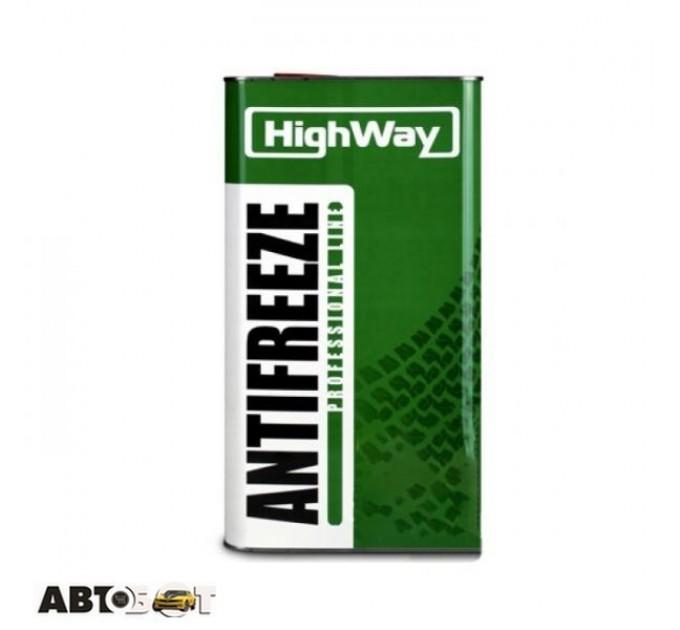 Антифриз High Way Long Life G11 зеленый -40°С 5л