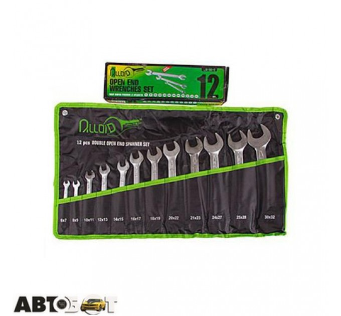 Набор ключей рожковых Alloid НК-2051-12
