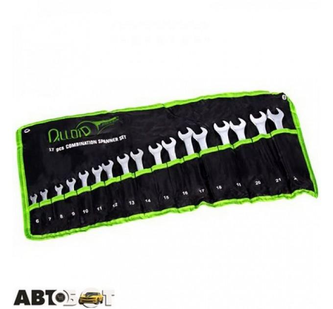 Набор ключей рожково-накидных Alloid НК-2005-17М