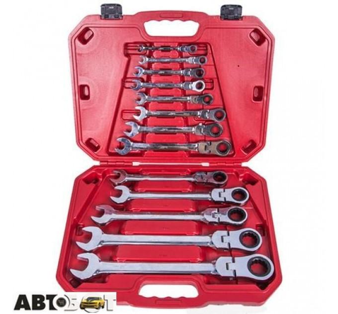 Набор ключей рожково-накидных Alloid НК-8701-13