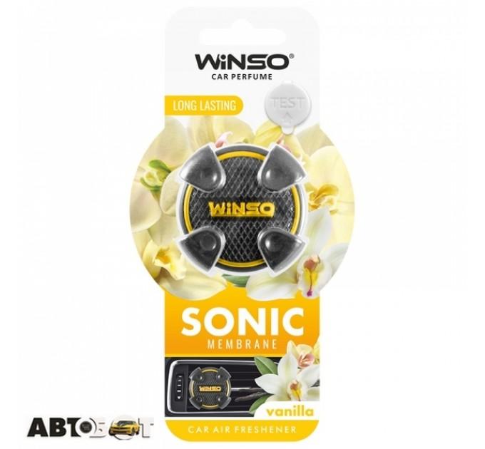 Ароматизатор Winso Sonic Vanilla 531050
