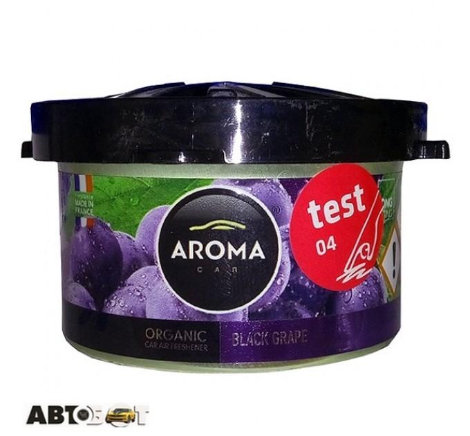 Ароматизатор Aroma Car Organic BLACK GRAPES 92991 40г