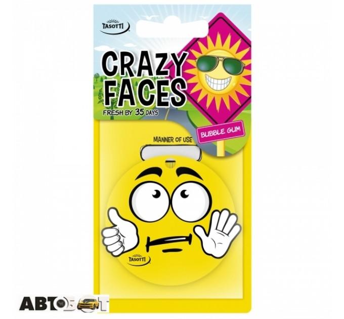 Ароматизатор TASOTTI Crazy Faces Bubble gum