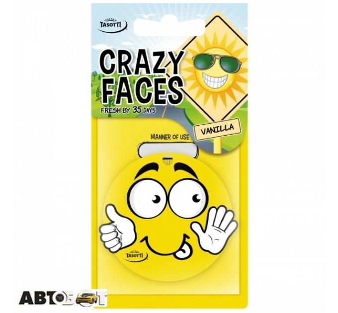 Ароматизатор TASOTTI Crazy Faces Vanilla