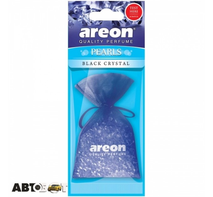 Ароматизатор Areon Pearls Black Crystal ABP01