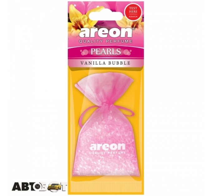 Ароматизатор Areon Pearls Vanilla Bubble Gum ABP08