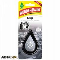 Ароматизатор Little Trees Clip Чёрний лёд 9748.7