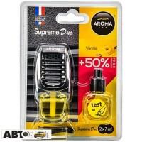 Ароматизатор Aroma Car Supreme DUO Slim VANILLA 92251 2x7мл