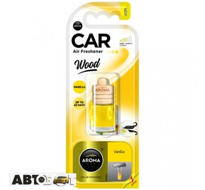 Ароматизатор Aroma Car Wood VANILLA 63107 6мл