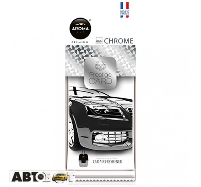 Ароматизатор Aroma Car Prestige Card CHROME 83544