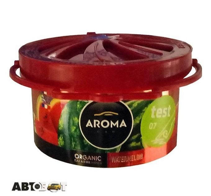 Ароматизатор Aroma Car Organic WATERMELON 92990 40г