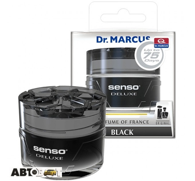 Ароматизатор Dr. Marcus Senso Black 50мл