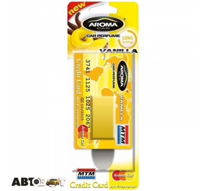 Ароматизатор Aroma Car Credit Card Vanilla 401 4мл