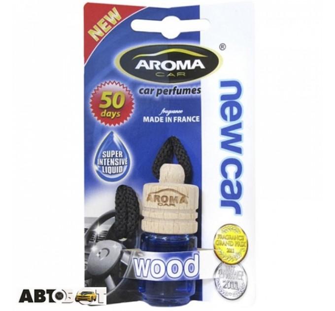 Ароматизатор Aroma Car Wood New Car 313/92153 4мл