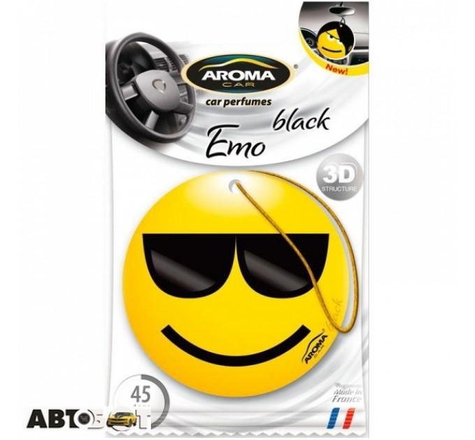 Ароматизатор Aroma Car Emo Black 92329