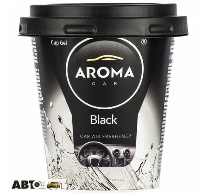 Ароматизатор Aroma Car CUP Gel Black 92777 130г
