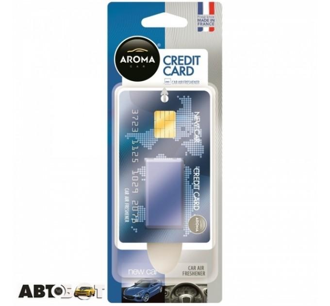 Ароматизатор Aroma Car Credit Card New Car 92792 4мл