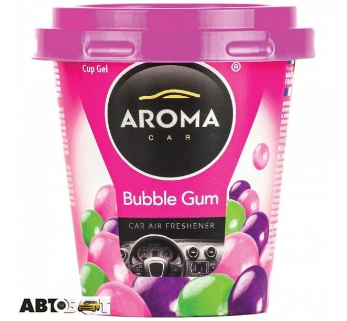 Ароматизатор Aroma Car Cup Gel Bubble Gum 92778 130г