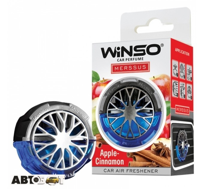 Ароматизатор Winso Merssus Apple Cinnamon 534390 18мл