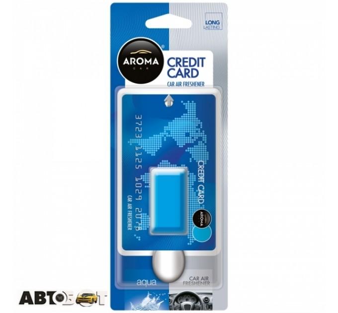 Ароматизатор Aroma Car Credit Card Auqa 92069 4мл