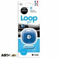 Ароматизатор Aroma Car Loop Gel Aqua 63114