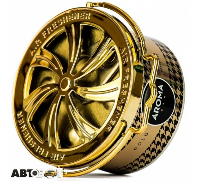 Ароматизатор Aroma Car Prestige Organic Gold 92516