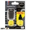 Ароматизатор Aroma Car Supreme Duo Slim Black 92259