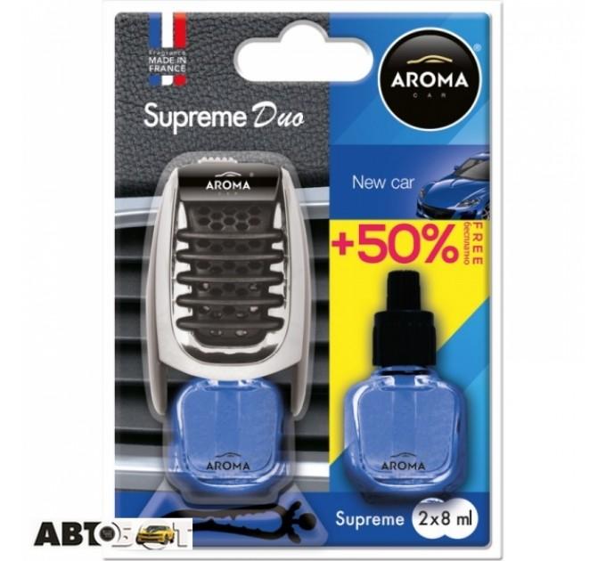 Ароматизатор Aroma Car Supreme Duo Slim New Car 92518