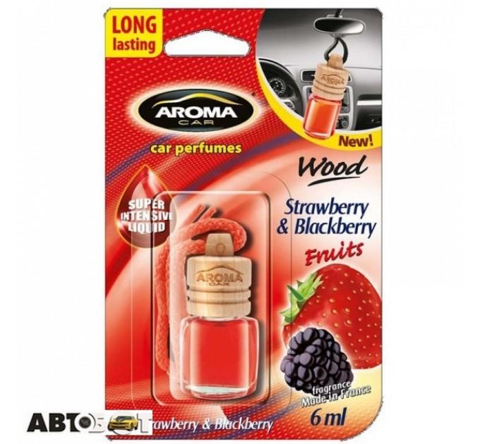 Ароматизатор Aroma Car Wood Strawberry & Blackberry 63117/92708 6мл