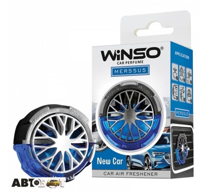Ароматизатор Winso Merssus New Car 534490 18мл