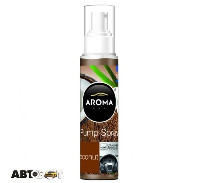 Ароматизатор Aroma Car Pump Spray COCONUT 92549 75мл