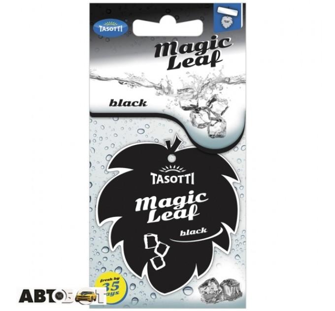 Ароматизатор TASOTTI Magic Leaf Black