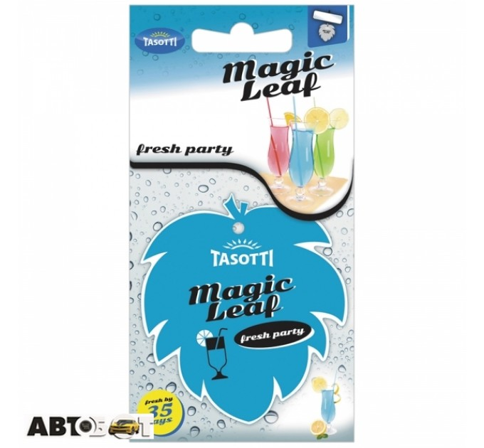 Ароматизатор TASOTTI Magic Leaf Fresh Party