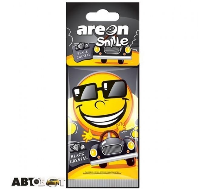 Ароматизатор Areon Smile Black Crystal