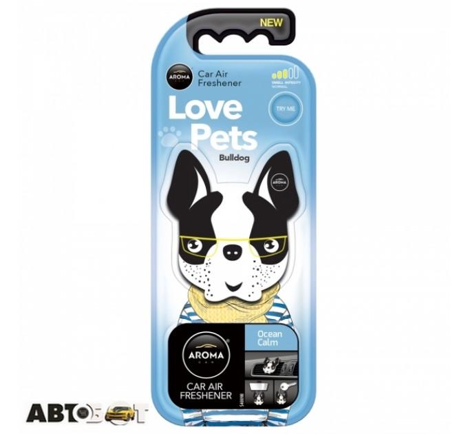 Ароматизатор Aroma Car Dog Ocean Calm 92565