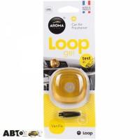 Ароматизатор Aroma Car Loop Gel Vanilla 92599