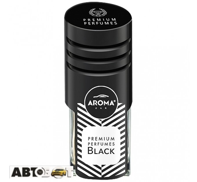 Ароматизатор Aroma Car Prestige Vent Black 83204