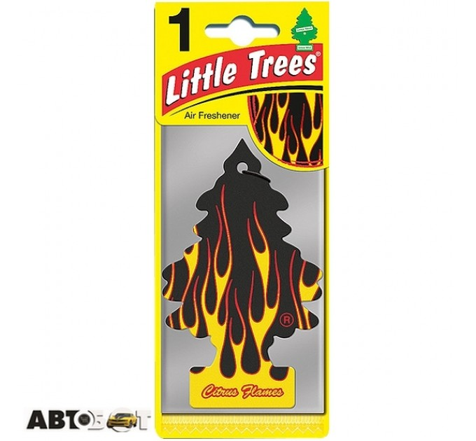Ароматизатор Little Trees Citrus Flames 78090