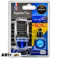Ароматизатор Aroma Car Supreme DUO Slim NEW CAR 92518 2x7мл